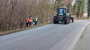 Aktion Saubere Landschaft - Sammeln